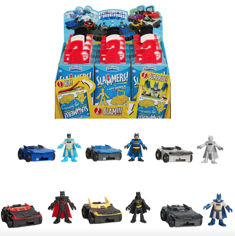 Boop Toys – Fisher-Price Imaginext Slammers Series 1, MOTU, SDCC WWE Elite Mr. T, G.I. Joe, Imaginext DC XL & More