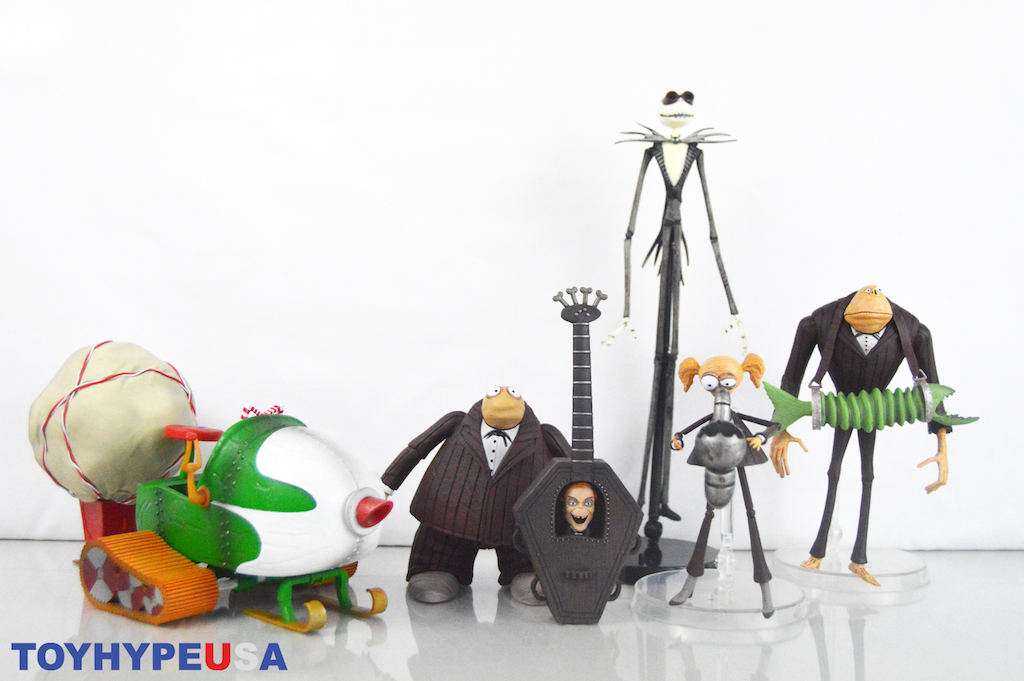 Diamond Select Toys The Nightmare Before Christmas Select 9 Figures Review
