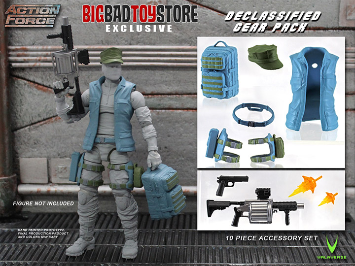 BigBadToyStore Exclusive – Action Force Declassified Gear Pack Accessory Set
