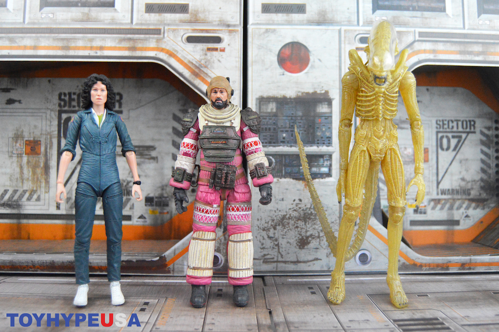 NECA Toys Alien 40th Anniversary Figures Series 1 Figures Review