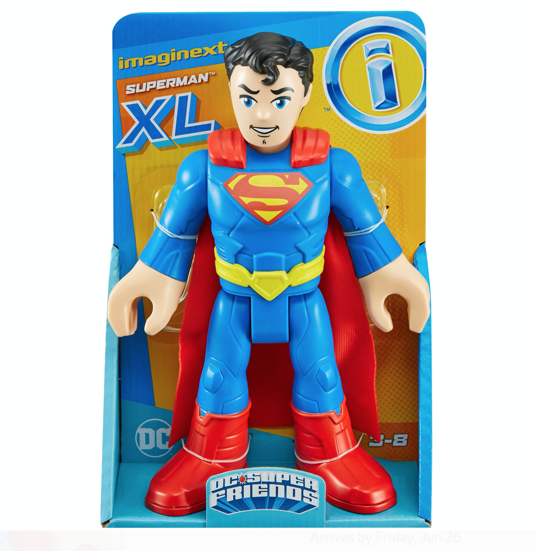 Boop Toys – Fisher-Price Imaginext DC Batman & Superman XL Figures In-Stock, Fall Sale Update