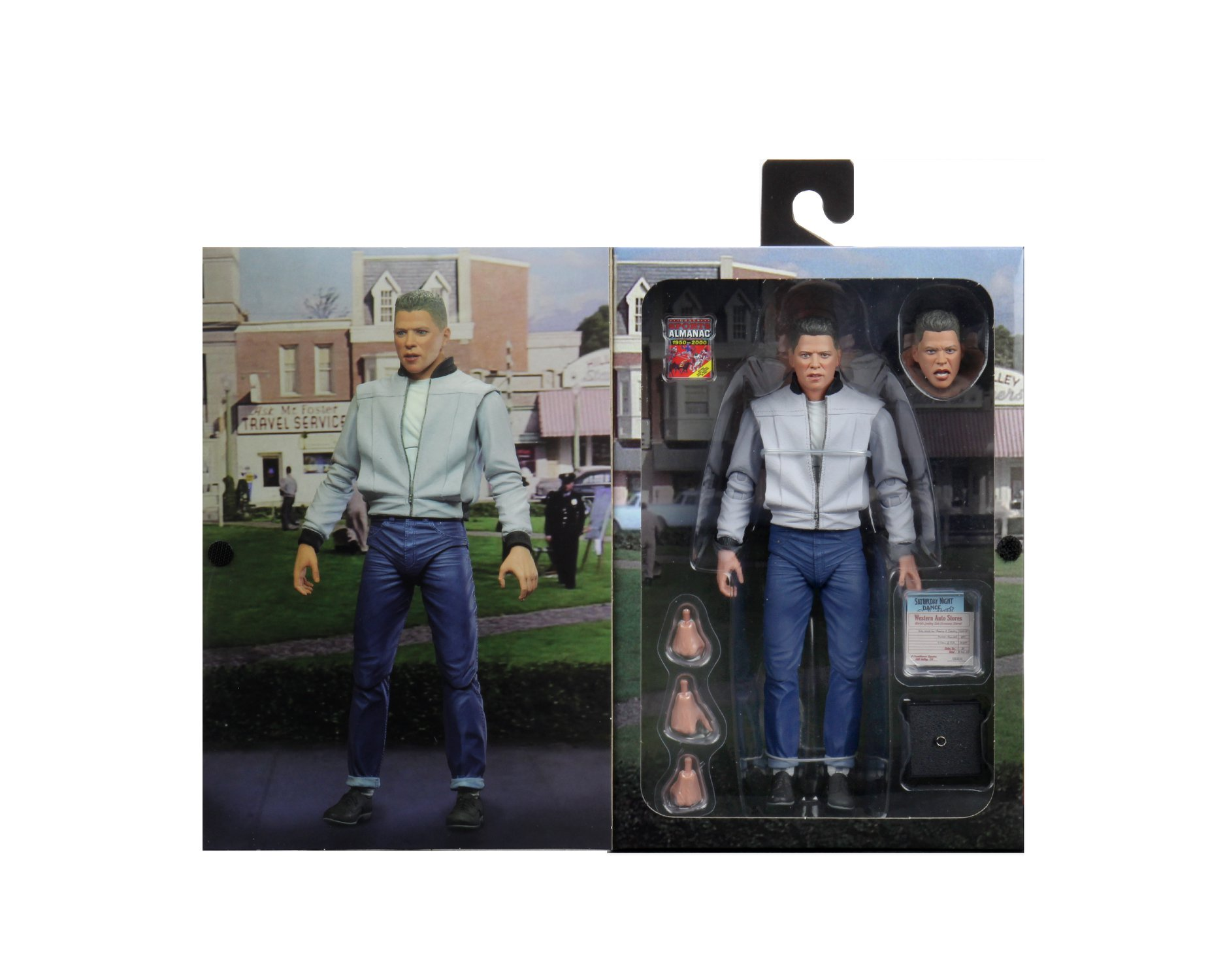 NECA Toys Back To The Future Part 2 – Ultimate Bif Figure In-Packaging