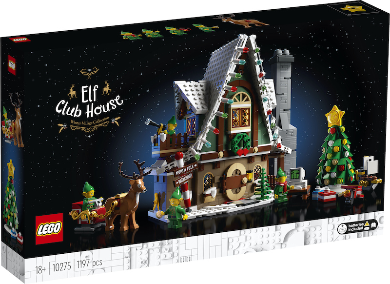 LEGO Holiday Collection – Elf Club House Set