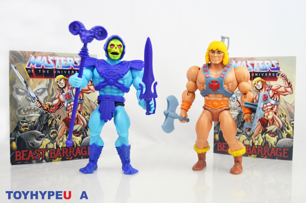 Mattel – Masters Of The Universe Origins He-Man & Skeletor Figures Review