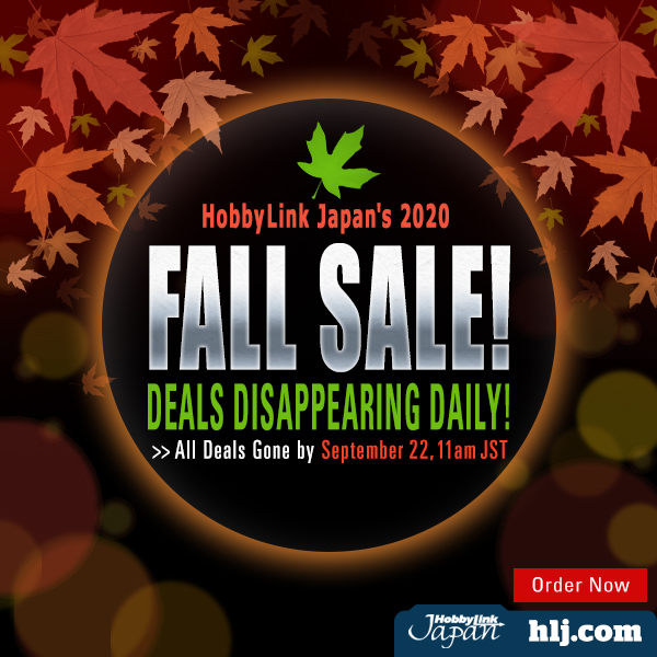 Hobby Link Japan – 2020 Fall Sale Now Live
