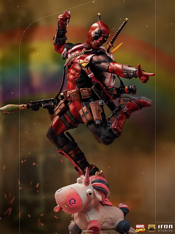 Iron Studios – Marvel Comics X-Men – Deadpool 1/10 Scale Statue Pre-Orders