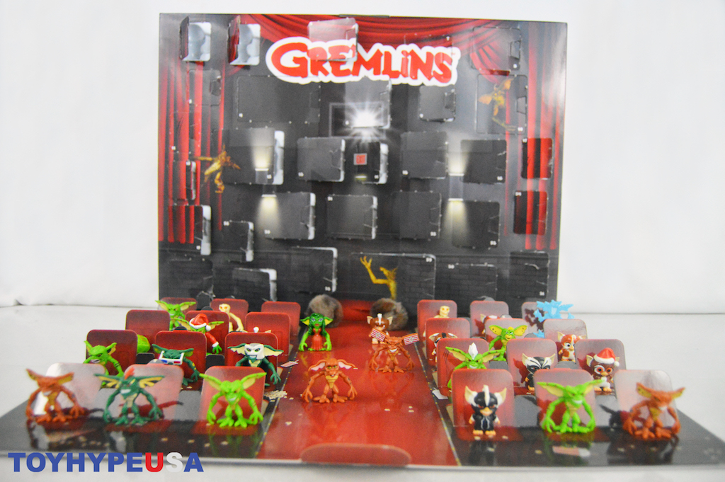 Jakks Pacific Gremlins Countdown Calendar Video Unboxing & Review