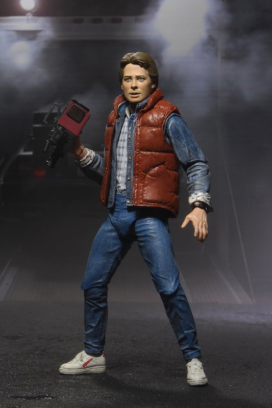 NECA Toys Back to the Future – Ultimate Marty McFly 7″ Scale – New Figure Images