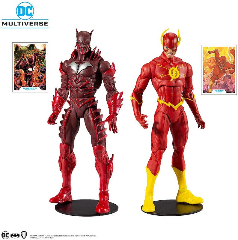 McFarlane Toys DC Multiverse Earth-52 Red Death & The Flash Figure Pre-Orders