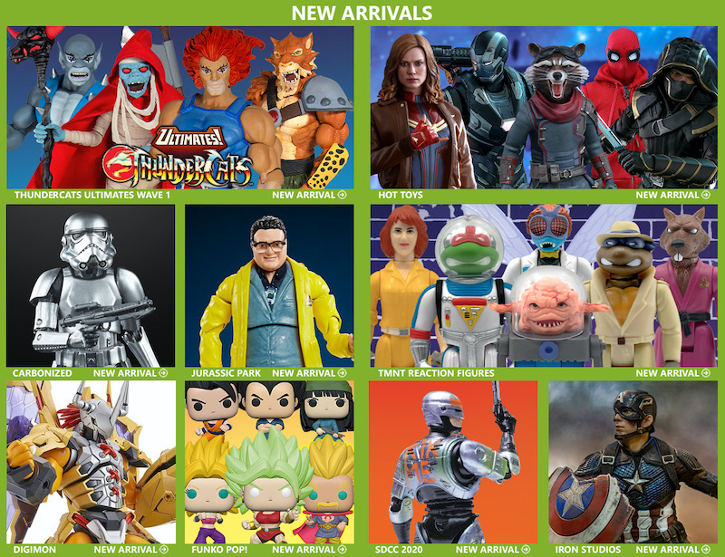 BigBadToyStore News – Star Wars Black Series, ThunderCats, Marvel Legends, Transformers, Doom, Gundam, Hero H.A.C.K.S. & More