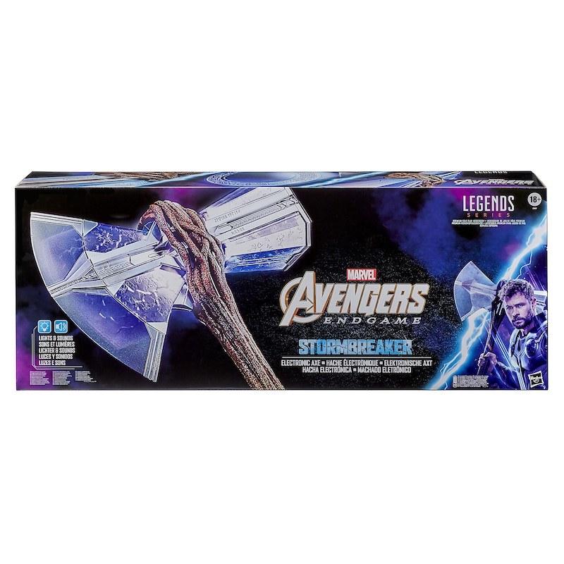 Zavvi U.S./Canada – Hasbro Marvel Avengers: Endgame Thor Stormbreaker Electronic Axe Thor Premium Roleplay Pre-Orders For $149.99