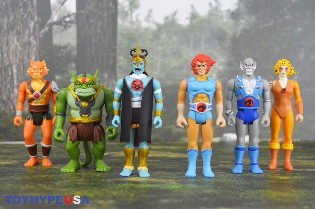 Super7 ThunderCats ReAction Figures Wave 1 Review