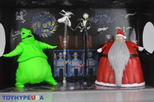 The Nightmare Before Christmas Comic Con 2021 Offsite Event Diamond Select Toys Sdcc 2020 Exclusive The Nightmare Before Christmas Oggie S Lair Box Set Review
