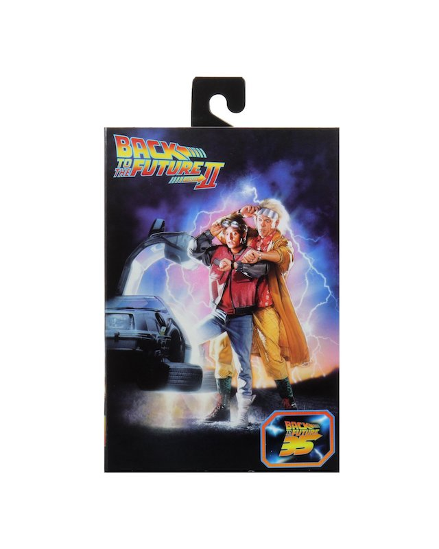 NECA Toys Back To The Future Part 2 – Ultimate Marty McFly Figure In-Packaging