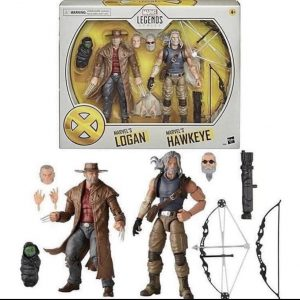 Hasbro Marvel Legends Old ManHawkeye & Logan Figures Now $34.69 On Amazon