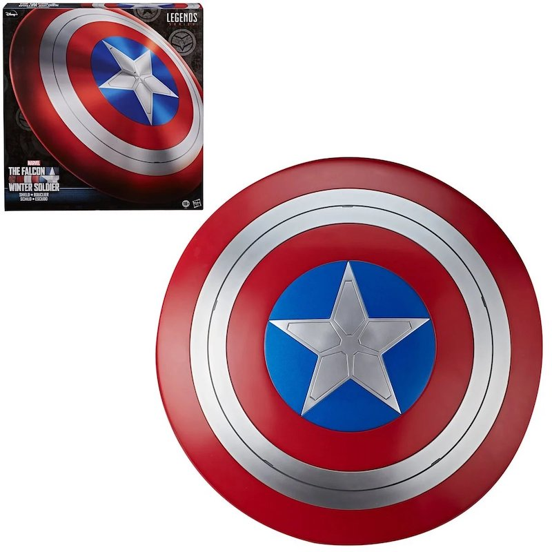 Hasbro Marvel Legends Avengers Falcon & Winter Soldier Captain America Shield Prop Replica Pre-Orders