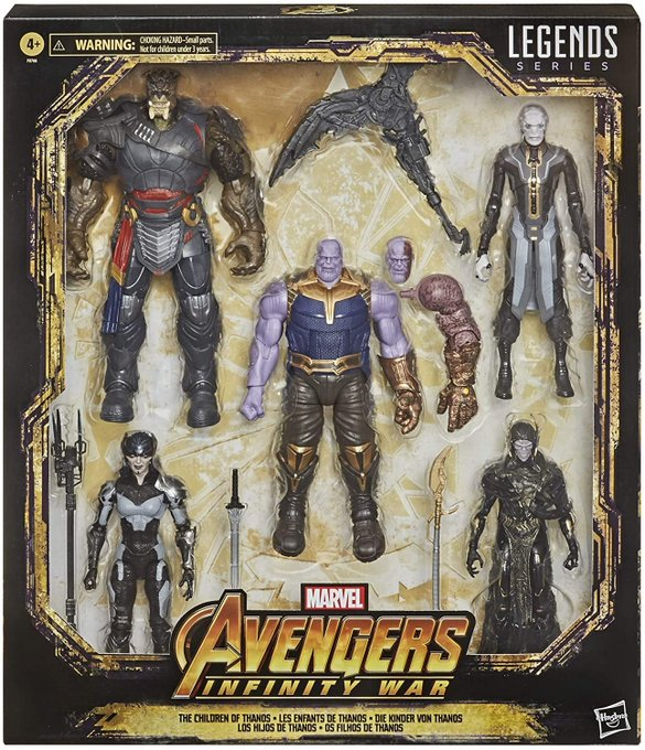 Hasbro Marvel Legends The Children of Thanos Figure 5-Pack Pre-Orders On Amazon