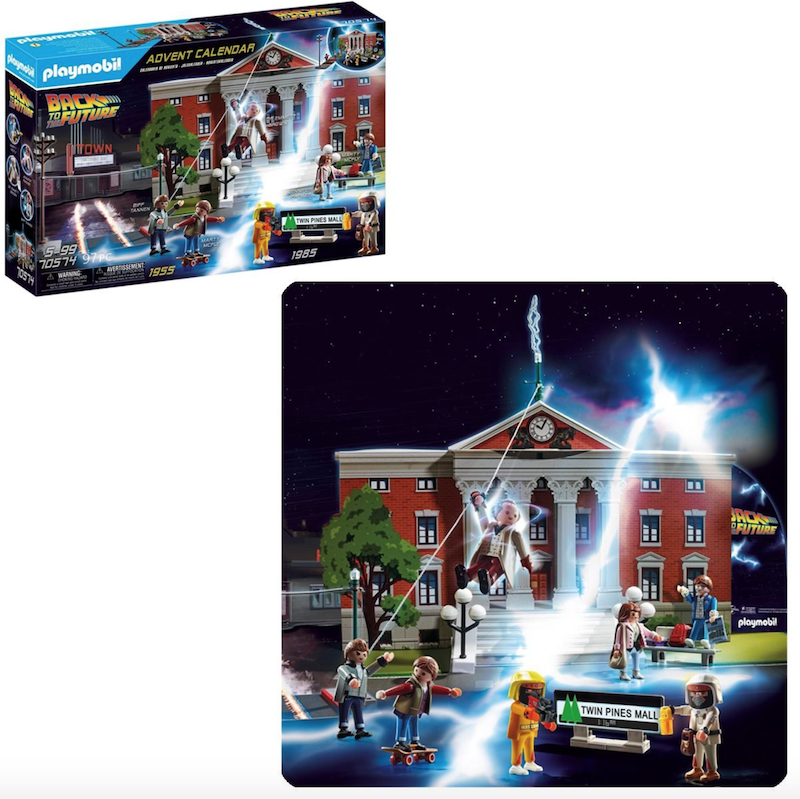 Playmobil 70574 Back to the Future Advent Calendar Pre-Orders Shipping October 2020