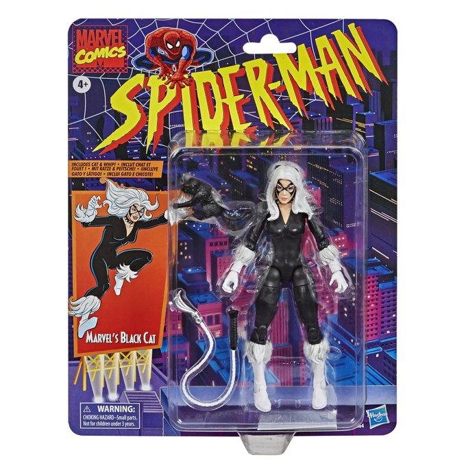 Hasbro Marvel Legends Spider-Man: The Animated Series Black Cat Figure Pre-Orders