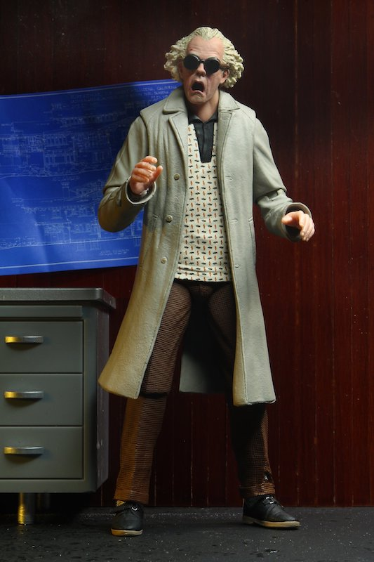 NECA Toys Back To The Future Ultimate Doc Brown Figure