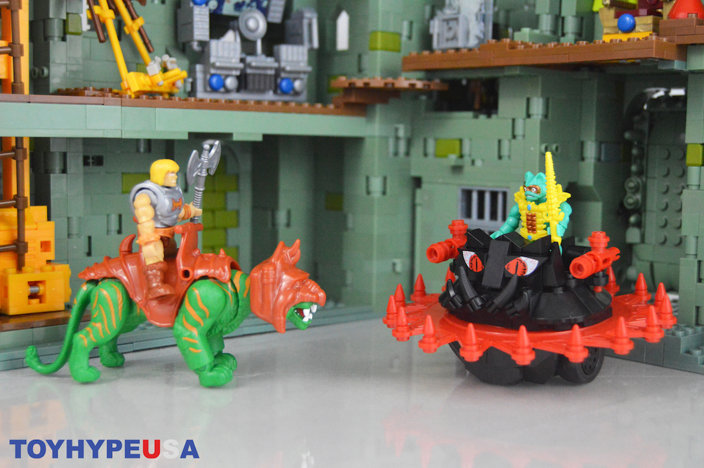 Mega Construx Masters Of The Universe Battle Cat Vs. Roton Playset Review