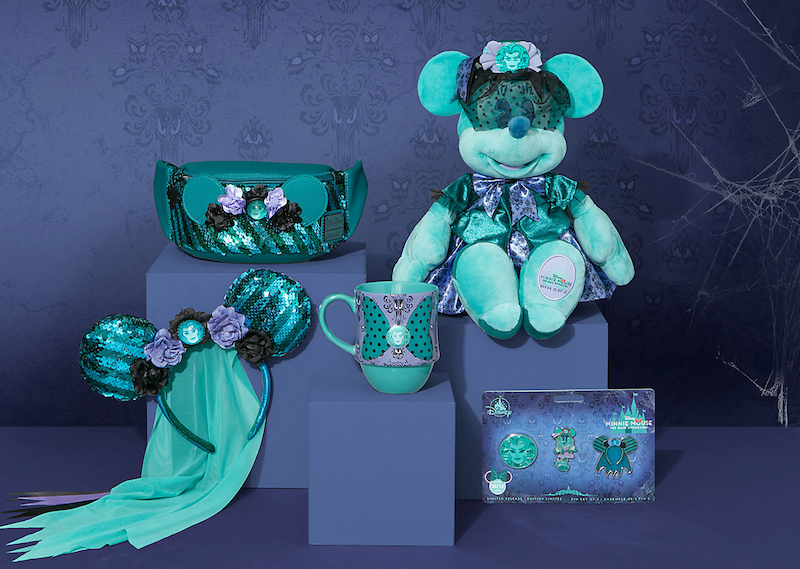 The Disney Store Launches Minnie Mouse: The Main Attraction The Haunted Mansion Collection