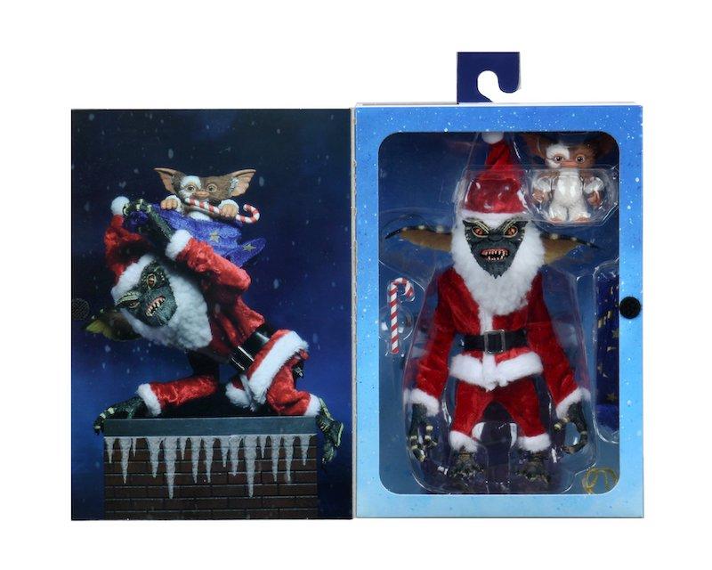 NECA Toys Gremlins – Santa Stripe & Gizmo Figures In-Packaging