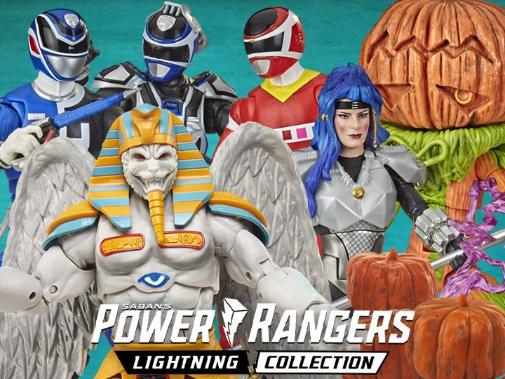 Hasbro Power Rangers Lighting Collection 6″ Battle Packs, & MMPR Monsters