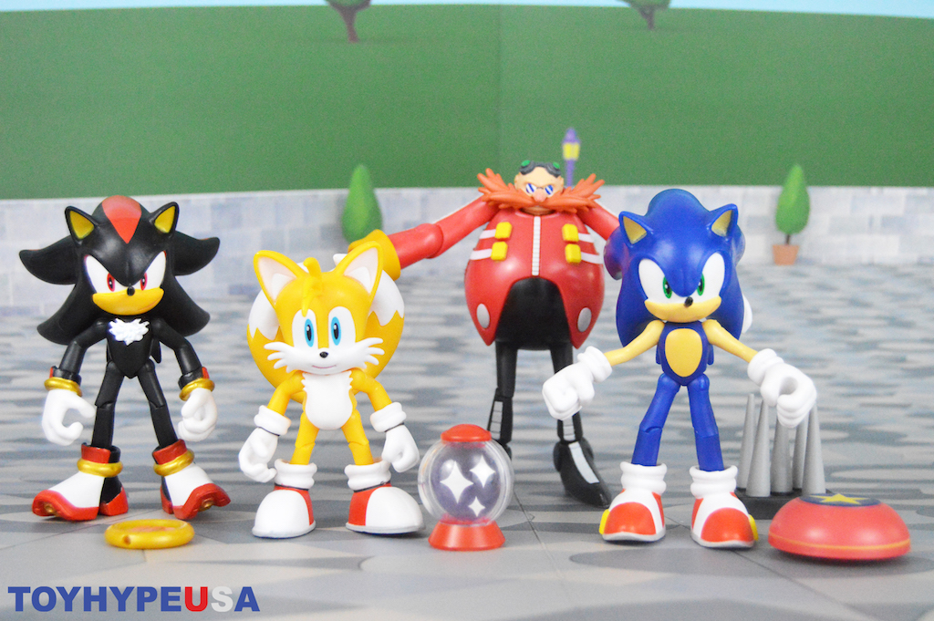Jakks Pacific Sonic The Hedgehog 4″ Articulated Figures Wave 1 Review
