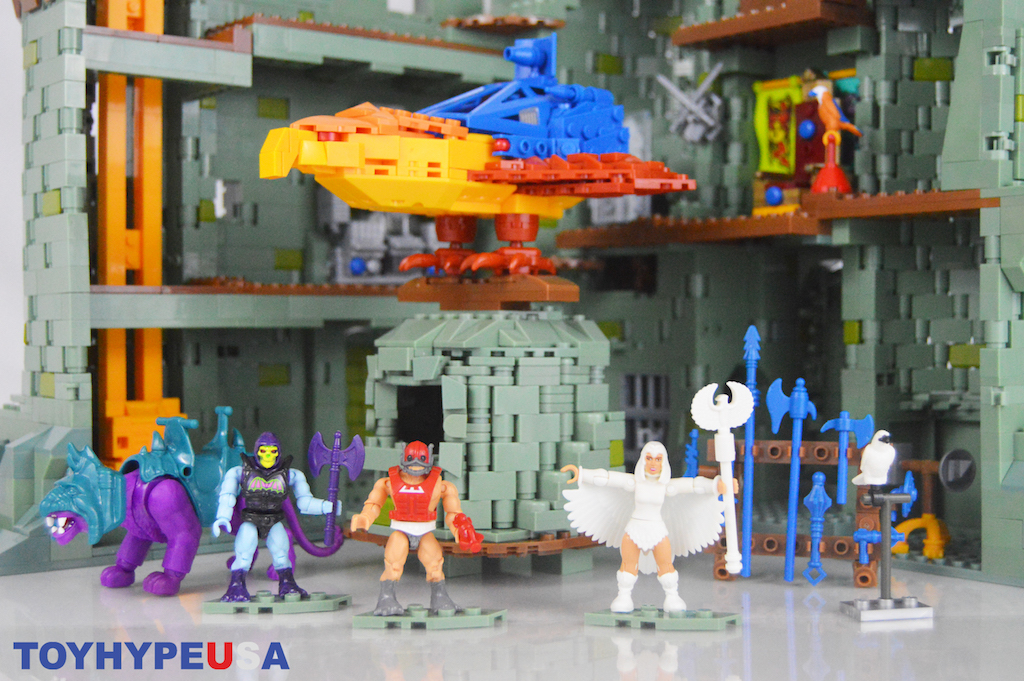 Mega Construx Masters Of The Universe Panthor At Point Dread Playset Review
