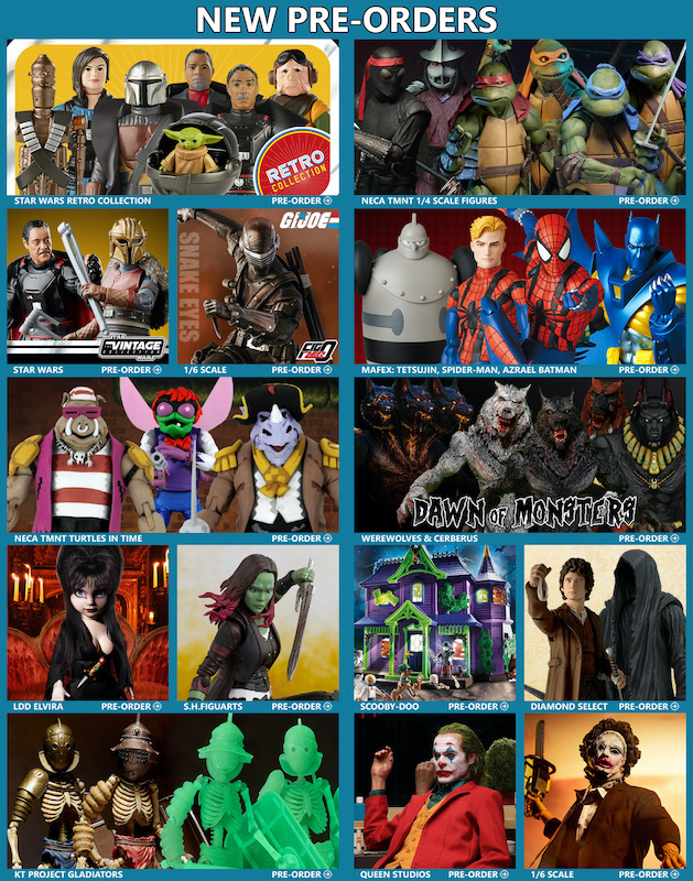 BigBadToyStore News – TMNT, Star Wars, G.I. Joe, MAFEX, Diamond Select, Bandai, Mortal Kombat, Gundam & More