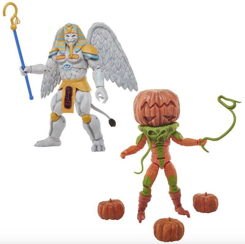 Hasbro Power Rangers Lightning Collection MMPR Pumpkin Rapper & King Sphinx Now $23.99 On Amazon
