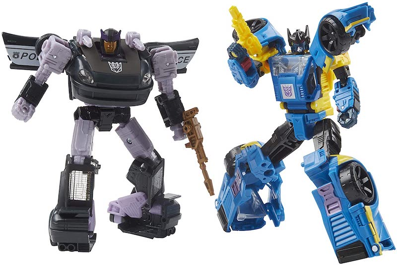 Hasbro Transformers Generations War for Cybertron: Earthrise Galactic Odyssey Collection Dominus Criminal Pursuit 2-Pack