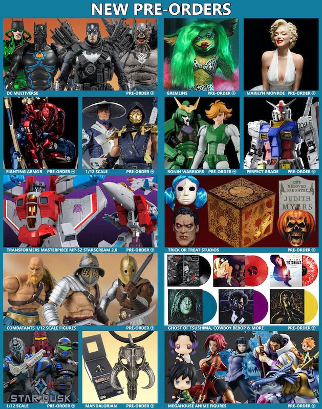 BigBadToyStore News – DC Multiverse, Mortal Kombat, Marilyn Monroe, Gremlins, Iron Spider, Gundam, Funko, Star Wars, MOTU & More