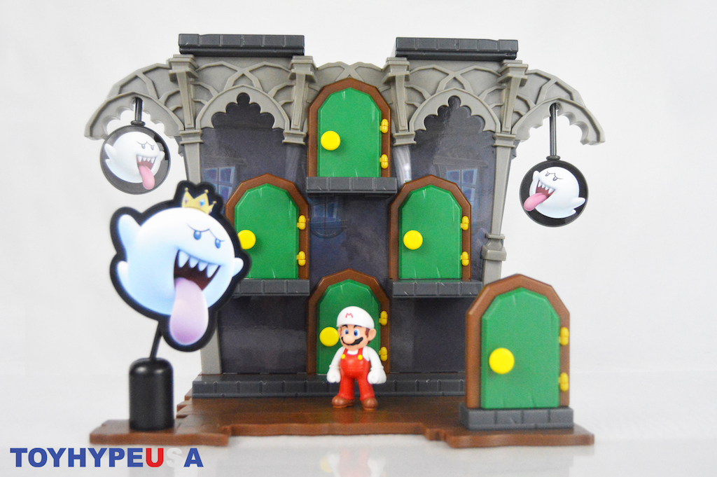 Jakks Pacific Super Mario – Deluxe Boo Mansion Playset Review
