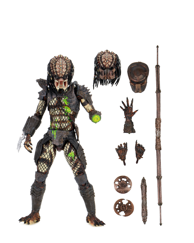 NECA Toys Predator 2 – Ultimate Battle Damaged City Hunter Predator Figure