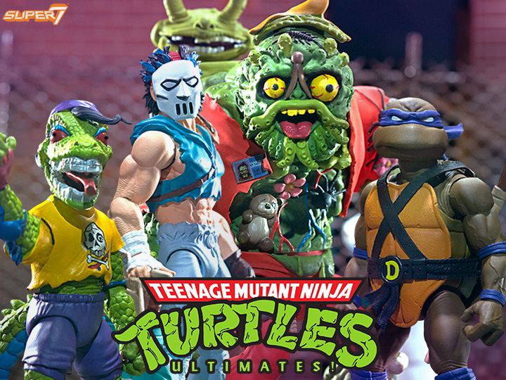 Super7 – Teenage Mutant Ninja Turtles Ultimate Wave 4 Figure Pre-Orders