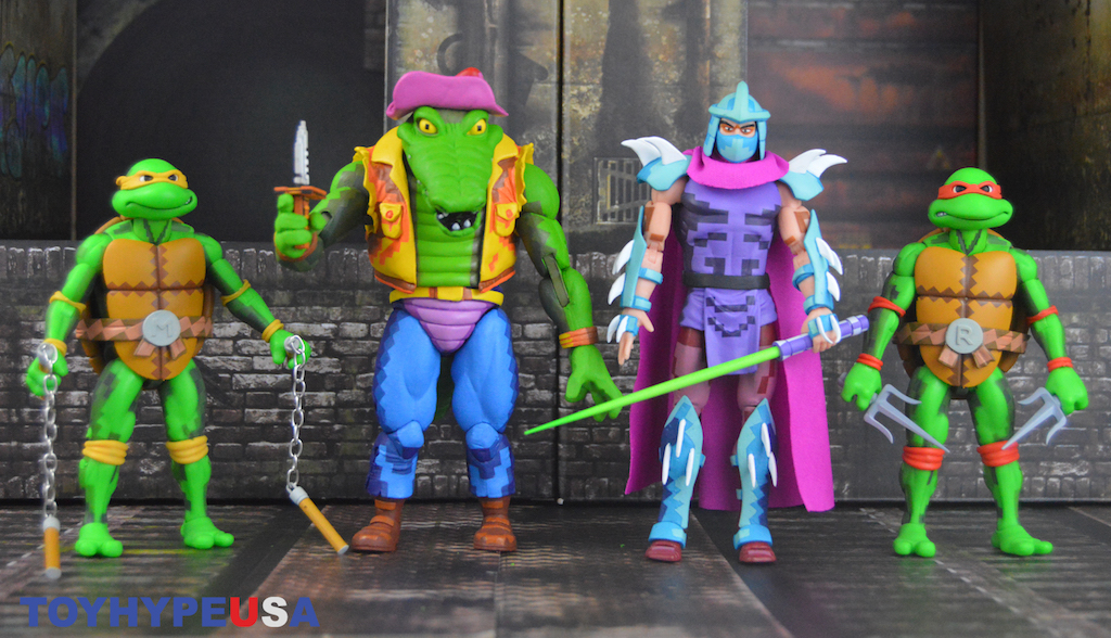 NECA Toys Teenage Mutant Ninja Turtles – Turtles in Time Series 2 Figures Review