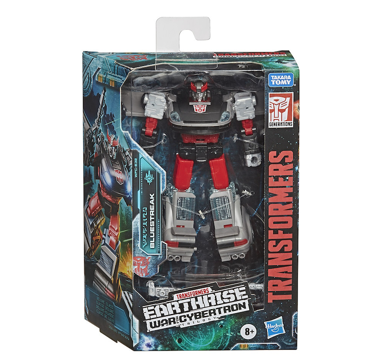 Hasbro Transformers Earthrise: War for Cybertron Deluxe Bluestreak Figure In-Stock At Walgreens