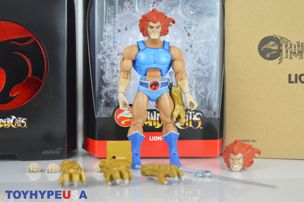 Super7 – ThunderCats Ultimates Wave 1 Lion-O Figure Video Review