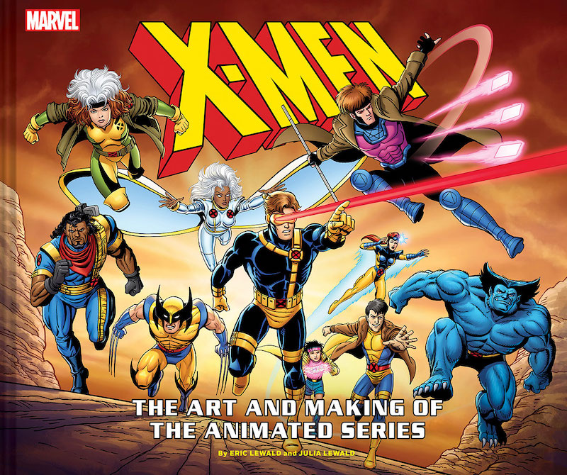 X-Men: The Art and Making of The Animated Series Hardcover Book