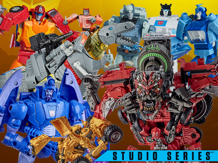 Hasbro Transformers Studio Series Devastator, '87 Classic Rodimus Prime, Scourge & More New Pre-Orders