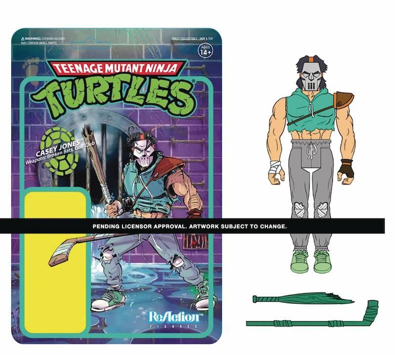Super7 ThunderCats & Teenage Mutant Ninja Turtles ReAction Wave 2 & 3 Figures