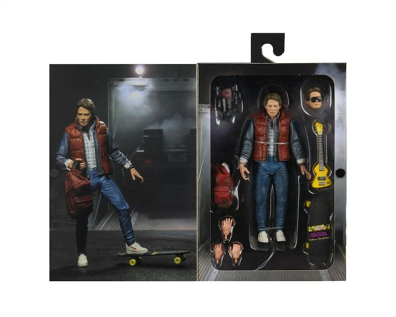 NECA Toys Back To The Future – Ultimate 7″ Marty McFly & Bif Figures Available Now