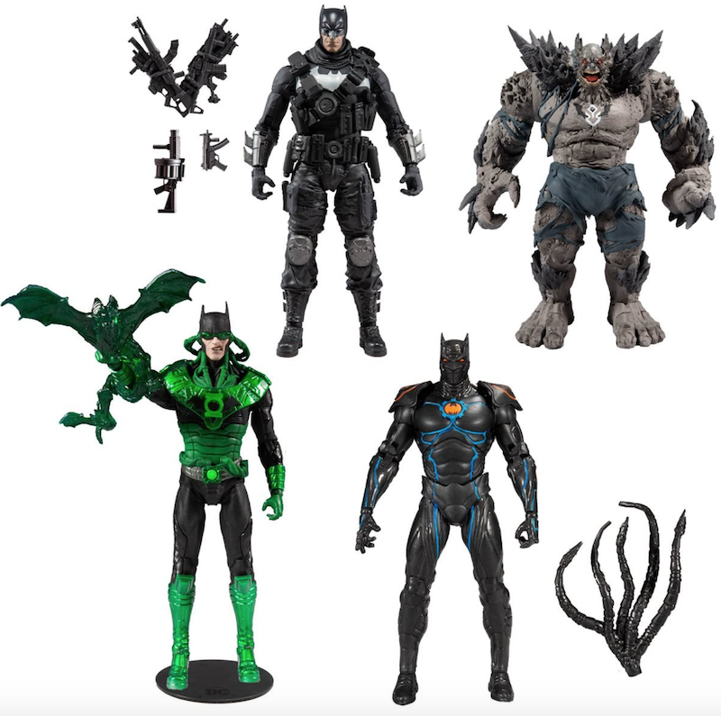 McFarlane Toys DC Multiverse Dark Nights Metal 7″ Figure Set Pre-Orders