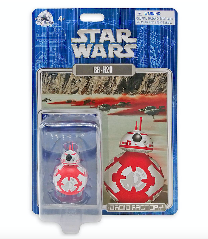 Disney Store Offering Holiday Exclusive Star Wars Droid Factory Figure – BB-H20