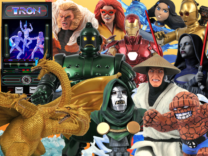 Diamond Select Toys & Gentle Giant Solicitations For Summer 2021 – Avatar, Marvel, Tron & More