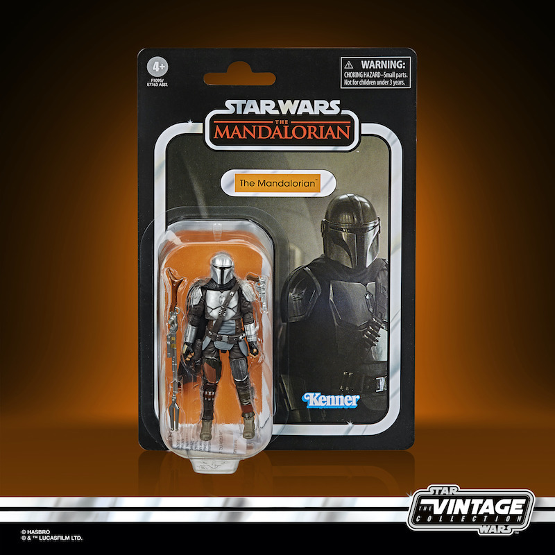 Hasbro Star Wars: The Vintage Collection The Mandalorian (Full Beskar) Figure Pre-Orders