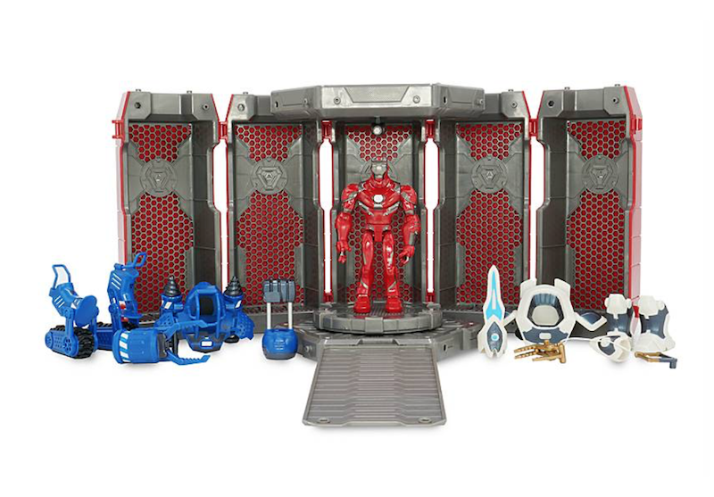 Disney Store Exclusive – Marvel Toy Box Iron Man Hall Of Armor Set Now $24