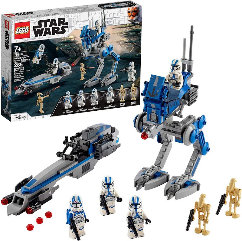 LEGO Star Wars 501st Legion Clone Troopers Set Now $24 On Amazon